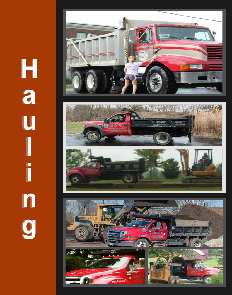 MATERIAL & EQUIPMENT HAULING AND TRUCKING SERVICES