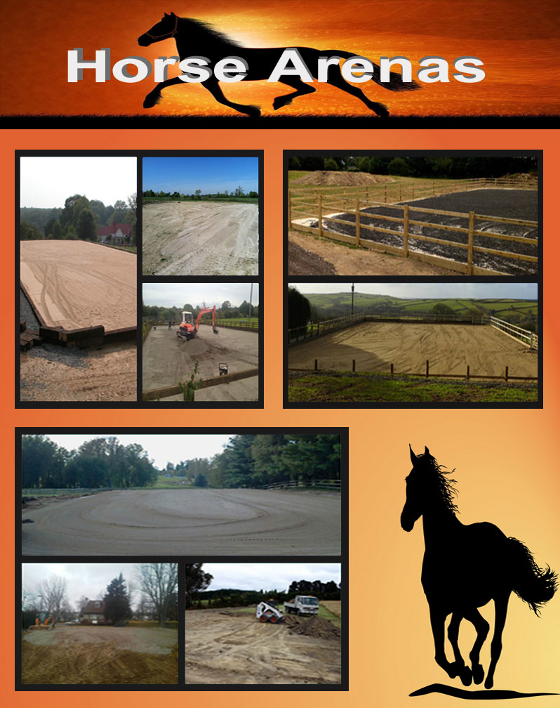 Jake's Property Services can help you build any size indoor or outdoor arena, paddocks, barns, pastures, riding trials and many more. We have the right crew and equipment to handle any size job you have in mind!