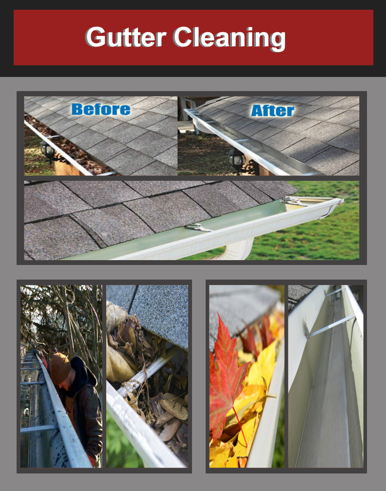 gutter cleaning - Our quality approach to gutter cleaning provides our customers with the assurance of a professional job every time. All of our crews are highly trained to ensure a high level of service and enhance the customer's experience.