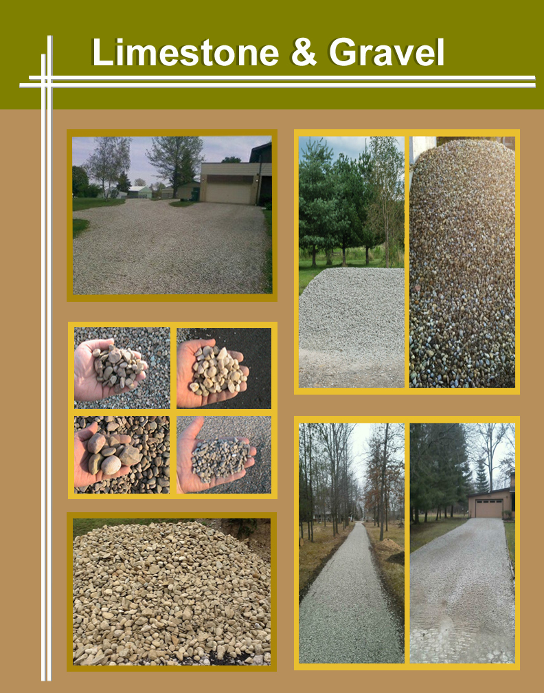 limestone-gravel