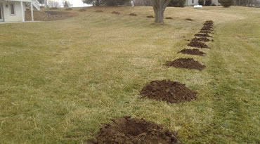 Excavating Services Central Ohio Digging Post Holes Columbus